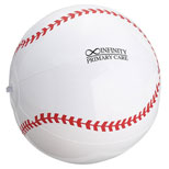 "Promotional Baseball Beach Ball - 14"" Baseball Beach Ball"