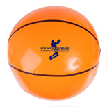 "Personalized Basketball Beach Ball - 14"" Basketball Beach Ball"