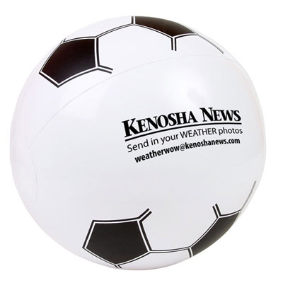 Soccer Beach Ball - 8 1/2