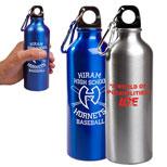 Custom Aluminum Petite Bottle - 17 Oz Aluminum Petite Bottle