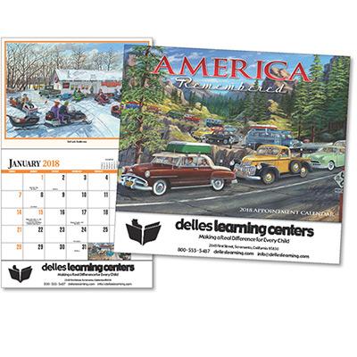 America Remembered Wall Calendar