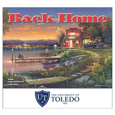 Back Home Wall Calendar