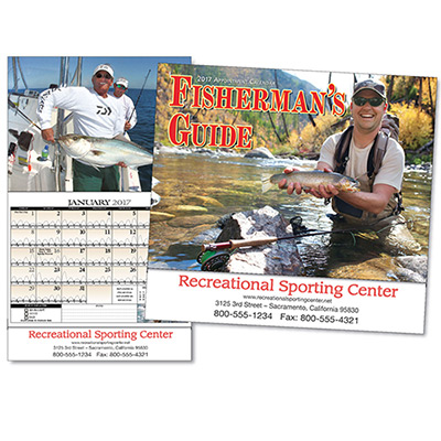 Fisherman's Guide Wall Calendar