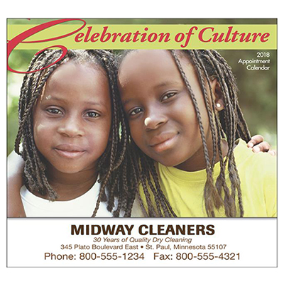 celebration of culture wall calendar