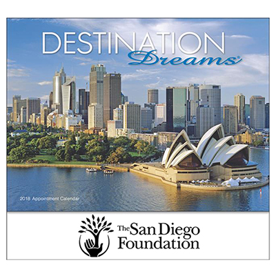 destination dreams  wall calendar