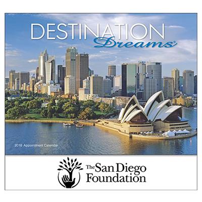 Destination Dreams  Wall Calendar