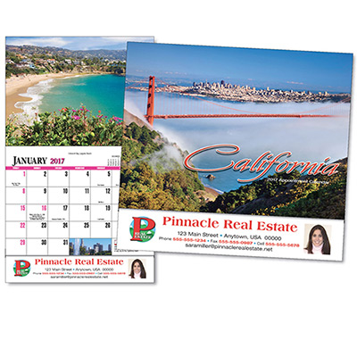 California Wall Calendar