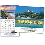 19396 - Puerto Rico Wall Calendar
