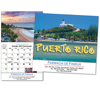 Puerto Rico Wall Calendar