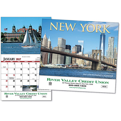 New York Wall Calendar