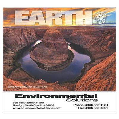 Earth Wall Calendar