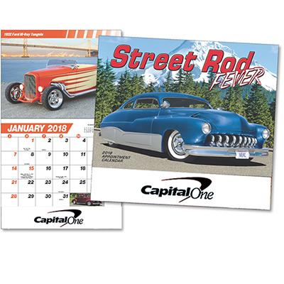Street Rod Fever Wall Calendar