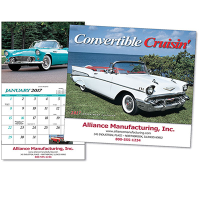 Convertible Cruisin' Wall Calendar
