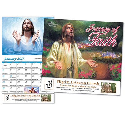 Journey of Faith Universal Wall Calendar