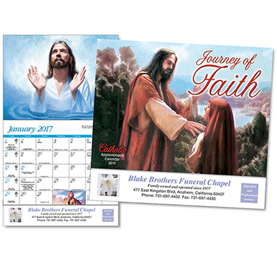 Journey of Faith Catholic  Wall Calendar