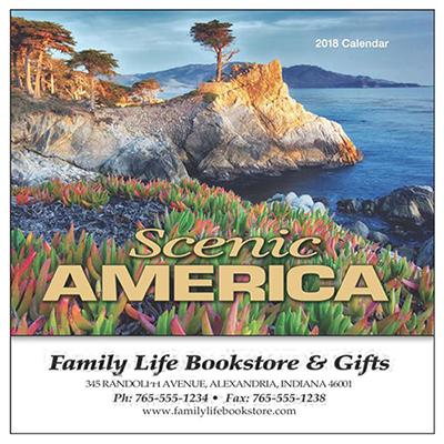 Scenic America Mini Wall Calendar