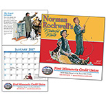 19418 - Rockwell Mini Wall Calendar