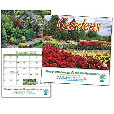 Gardens Mini Wall Calendar