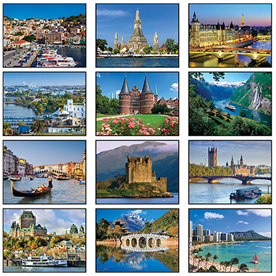 Destination Dreams®  Mini Wall Calendar