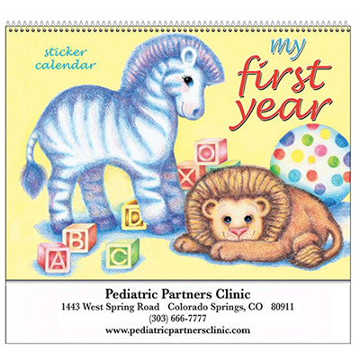 Baby's First Year Wall Calendar