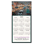Personalized Main Street Calendar Greeting Card 2017