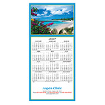 Promotional Idyllic Destination Calendar Greeting Card 2017