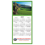Custom Golfers Delight Calendar Greeting Card 2017