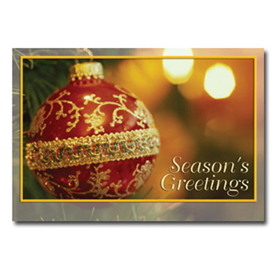 Season's Delight Greeting Card