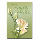 You're in our Thoughts & Prayers (Lilly) Holiday Greeting Card