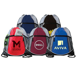 19500 - Double Take Drawstring Bag