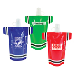 Custom Super Fan Flat Bottle - 16oz. Super Fan Flat Bottle