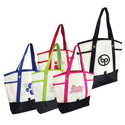 Color Stripe Tote Bag