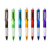 Promotional Black Gel Ink Pen - Crystal Gel Ink Pen