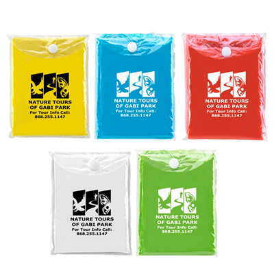 Promotional Disposable Rain Poncho