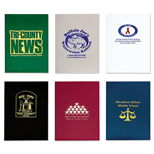 Promotional Colored Folders - 2 Pocket Unreinforced Presentation Folder