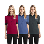 19648 - Ladies Silk Touch™ Colorblock Polo