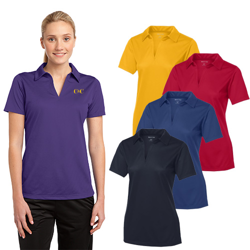 Sport-Tek® Ladies PosiCharge® Textured Polo