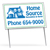 Custom Double-Sided Yard Signs - Double-Sided Yard Signs 14 1/2 x 23 with Frame