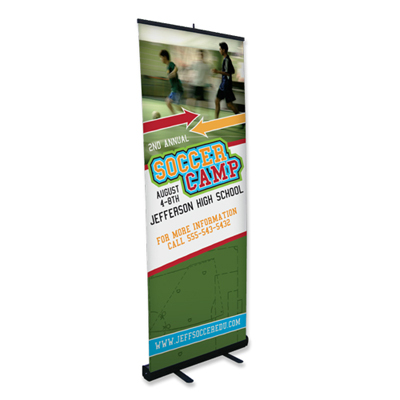 banner stands 32 x 83