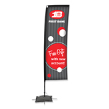 "Custom Flags - Promotional Flags 7"" Rectangle Flag"