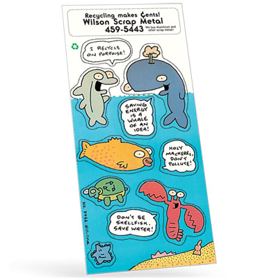 Ocean Adventure Sticker Sheet