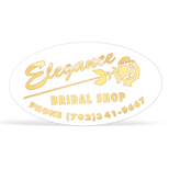 Customized Foil Stamped Labels - Oval Foil Stamped Seals