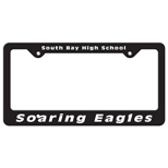 Custom License Plate Holders, Personalized Car License Plate Holders