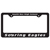 Custom License Plate Holders
