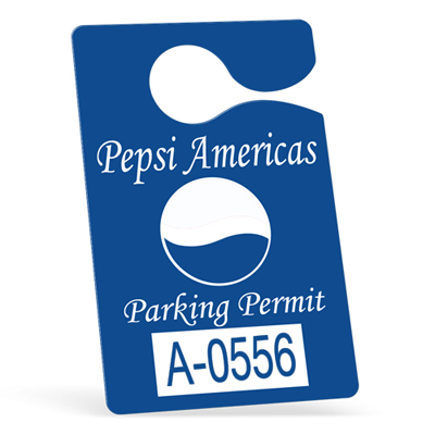 Hanging Parking Permit