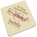 19783 - Square Paperboard Coaster