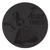 Promotional Leather Coasters - Leather Coasters-Black