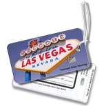 Custom Business Card Luggage Tags - Luggage Tags