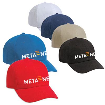 Brushed Bull Style Denim Caps