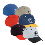 Bulk Low Profile Caps - Cotton Twill Low Profile Pro Style Caps – Dual Color